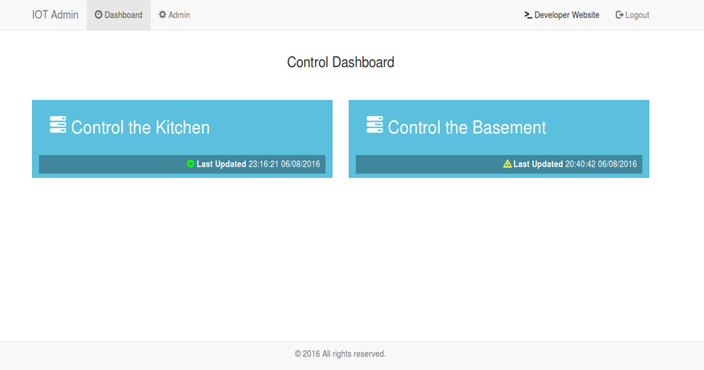 Application for Home automation - WebControl @ www.Vasilev.link IT Consulting Services